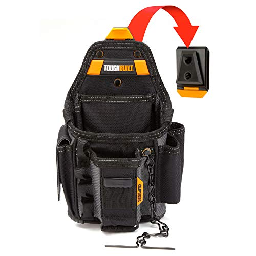 ToughBuilt - Electrician ClipTech Pouch and Hub - 13 Pockets and Loops - Small - (TB-CT-34)