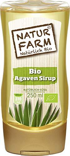 NATURFARM Natürlich BIO Qualität Agaven Sirup natürlich süss 250ml
