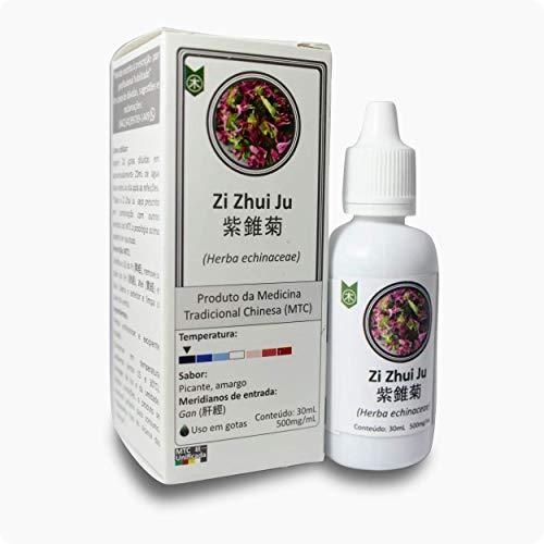 Suporte à imunidade: Zi Zhui Ju (Equinácea) Extrato concentrado (500mg/ml) - 30ml Gotas de uso oral