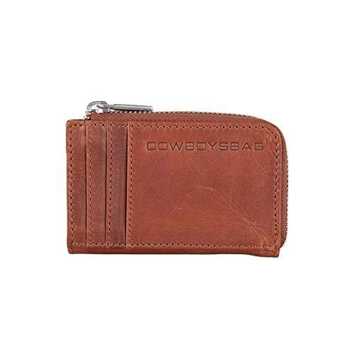 Cowboysbag Herren Geldbörse Portemonnaie Wallet Upton Cognac Braun 2217