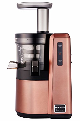 Hurom HZ Slow Juicer, Rose Gold (Renewed)