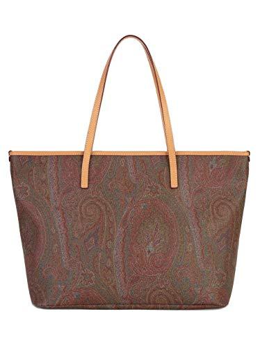 Etro Damen Medium Paisley Shopper Braun