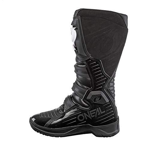 O'Neal Rider Boot MX Stiefel Schwarz Moto Cross Motorrad Enduro Boots, 0329-1, Größe 44 - 4