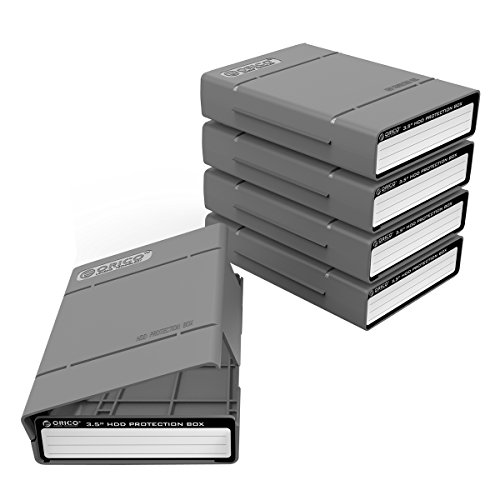 ORICO Docking Station 5 Bay USB 3.0 Carcasa magnética de Disco...