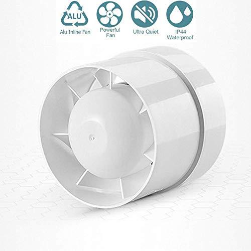 52/W Negro 230/V 150/mm Flujo de aire Aventa in-line ventilador silencioso