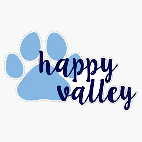 TCT Trading Penn State University Happy Valley Vinyl Stickers Waterproof Decal Car, Laptop, Bumper Stickers 5