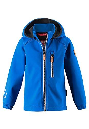 Reima Kinder Softshelljacke Vantii 521569 blau (128, Blau)