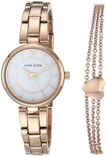 Anne Klein Juego de reloj y pulsera