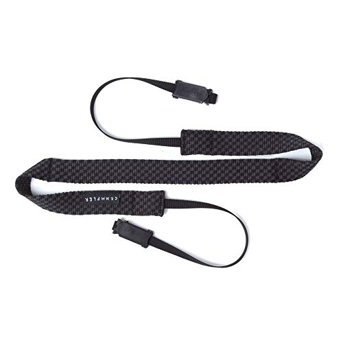 Crumpler CHST-001 Checkstrap Universal Kamera Schultergurt (Trageriemen, längenverstellbar) schwarz/anthrazit