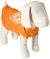 Mirage Pet Products 51-120 MDOR Hungry I Am Screen Print Shirt Orange Med - 12