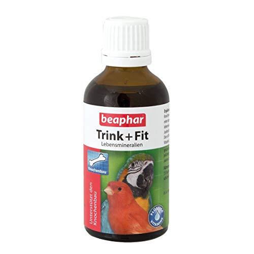 beaphar - Trink + Fit Lebensmineralien für Vögel - 50ml