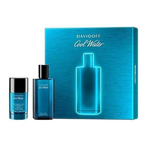 Davidoff Cool Water Man Geschenkset (Eau de Toilette 75 ml + Deo Stick 75 ml )