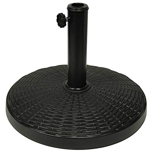 Blissun 22 lbs Heavy Duty Patio Market Umbrella Base Stand (16.5')