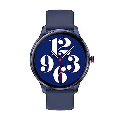 Ksodgun Reloj Deportivo con Pulsera Inteligente LW29 Pantalla táctil Completa TFT de 1,28' BT5.0 Rastreador de Actividad física IP67 Monitor de sueño/frecuencia cardíaca/presión Arterial a Prueba