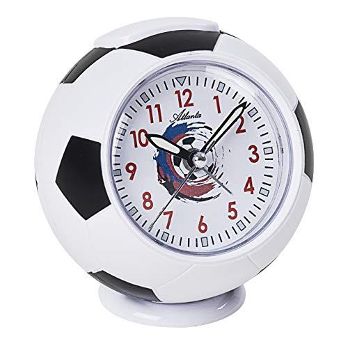 Kinderwekker voetbal wekker zonder tikken WK analoog - 1195