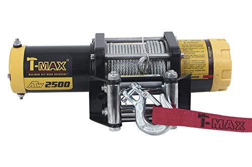 T-Max Seilwinde ATW-2500lbs 12V 1135kg Stahlseil