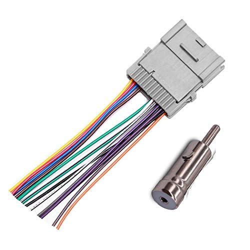 Stereo Radio Wiring Harness Adapter for GM Chevy GMC Buick Pontiac