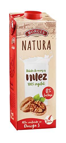 Borges Natura - Bebida de Nuez y Arroz 100% Vegetal, Sin