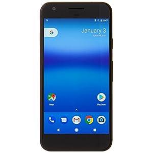 Google Pixel XL G2PW210032GBBK Factory Unlocked Smartphone, 32GB, 5.5-Inch Display - U.S. Version (Quite Black)
