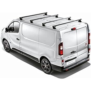 ab 2014 3 Stangen Kleinbus 5 T/ürer Aurilis Dachtr/äger Pro kompatibel mit Opel Vivaro