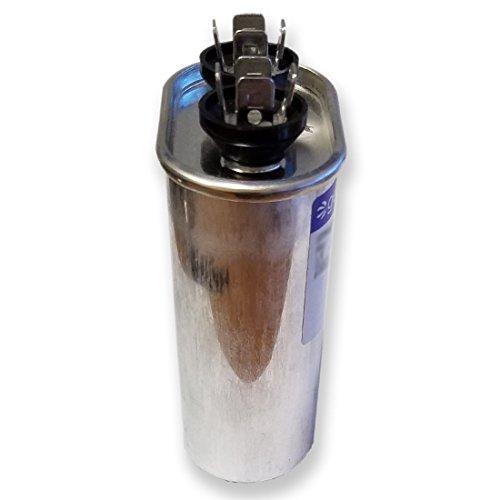Genteq Capacitor 10 UF MFD 370V 97F9002, 97F9002s (Replaces Old GE# 97F9002BZ3, Z97F9002, 27L669), 10 MFD at 370V, Oval