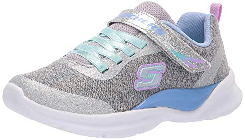 Skechers Girl's TECH Groove Trainers, Multicolour (Grey Multi Gymt), 12 UK (30 EU)