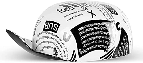 DEWUFAFA Vintage Motorcycle Helmet Men and Women Open-Face Motorbike Helmets Retro Half Helmet Adults Fashion Baseball Cap for Street Bike Cruiser Scooter Moped Jet Style Helmet DOT Certified