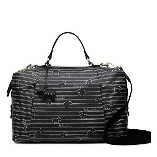 Radley London Radley Stripe Oilskin Medium Zip Around Multiway Bag