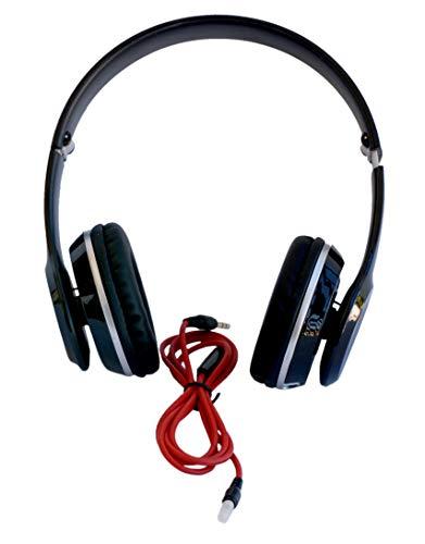 Hanizu-Kopfhörer: Schwarz Extra Bass HZ-100 Geschenkidee