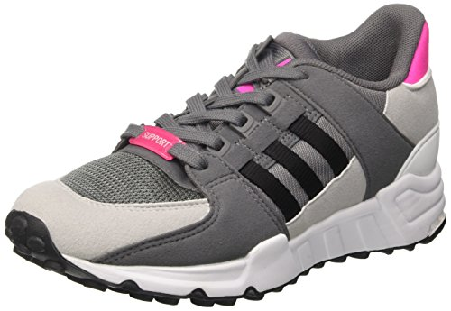 adidas Unisex-Kinder EQT Support J Gymnastikschuhe, Grau (Grey Four F17/core Black/FTWR White), 40 EU