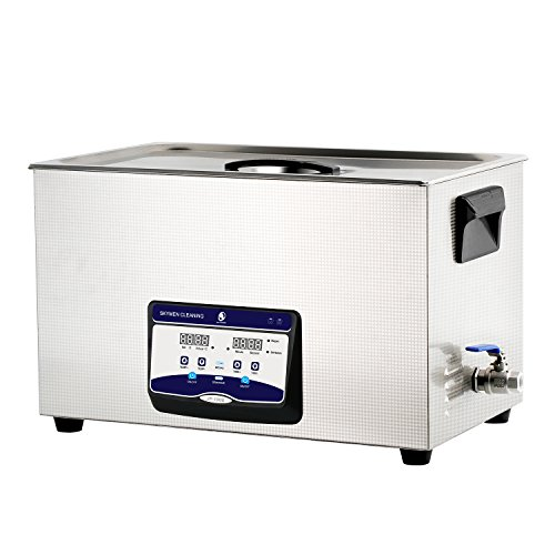 SKYMEN 超音波洗浄機 30L 工業用 超音波洗浄器 加熱 脱気 時間設定 超音波 クリーナー 業務用 項目 超音波 洗浄(600W 40KHZ)