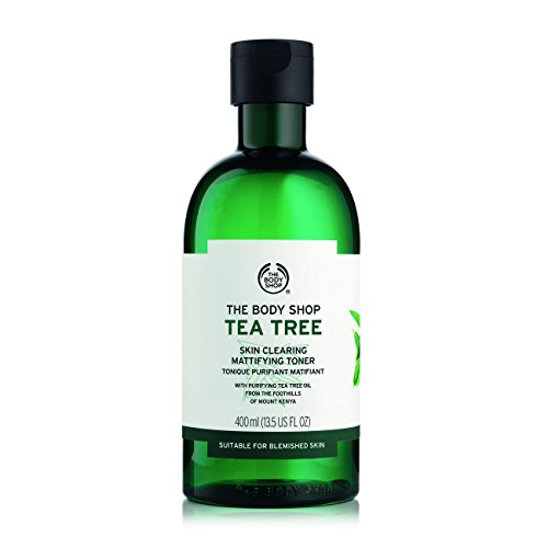 The Body Shop Tea Tree Gesichtswasser Skin Clearing Mattifying Toner 400ml