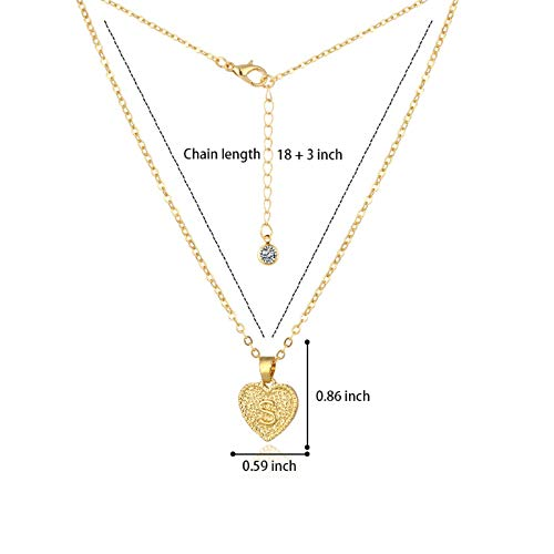 Janly Clearance Sale Women Necklaces & Pendants , Letter Love Necklace 26 Retro English Letter Pendant Necklace , Jewelry Sets , Valentine's Day (S)