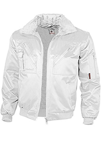 Qualitex - Pilotenjacke 4 in 1, Weiß , M