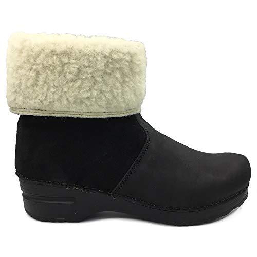 Sanita 'Courtney' Lined Winter Clog Boots (Art:457094) - 37