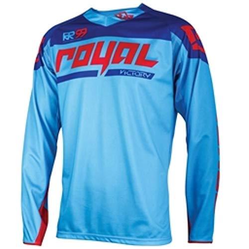 XIAMAZ Jersey de Ciclismo Martin Fox NUEVOS Jerseys del Motocrós De La Suciedad Bicicleta De La Bici MTB Downhill Camisas De La Motocicleta Camiseta Que Compite con Jersey (Color : Gold, Size : 4XL)