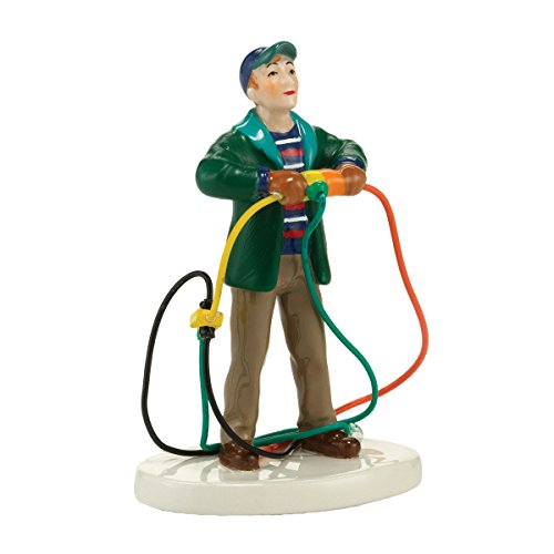Department 56 National Lampoon Christmas Vacation Fire It Up Dad Accessory Figurine, Standard, Green