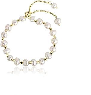 14k gold Freshwater Pearl Baroque Pearl Dainty pearl Bracelet Elegant Bracelet Simple Bracelet Pearl Bracelet