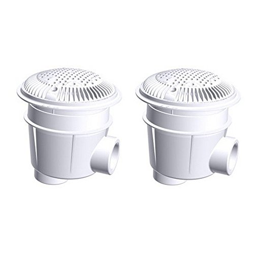 Purchase Hayward WG1053AVPAK2 1-1/2-Inch White Dual Suction Outlet for Concrete Pools