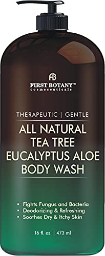 ALL Natural Tea Tree Body Wash - Fights Body Odor, Athlete's Foot,...