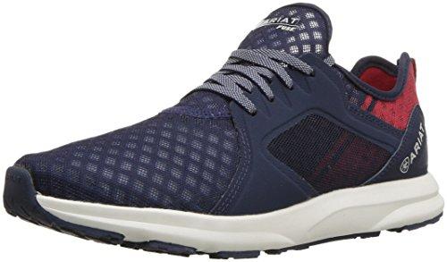 Ariat Women's Fuse Athletic Shoe Walking, team navy, 9.5 B US