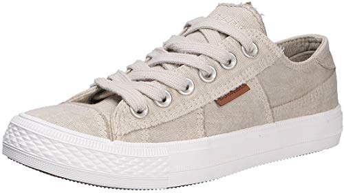 Dockers by Gerli 40th201-790210, Women's Low-Top Sneakers, Grey (Hellgrau 210), 6.5 UK (40 EU)