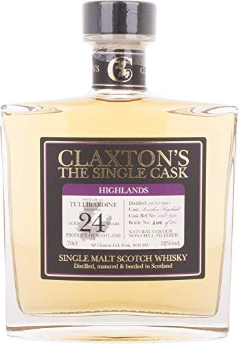 Claxton's The Single Cask TULLIBARDINE 24 Years Old Whisky (1 x 0.7 l)