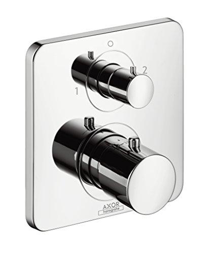 AXOR Citterio M Unterputz Thermostat mit Ab- und Umstellventil, für 2 Funktionen, Chrom