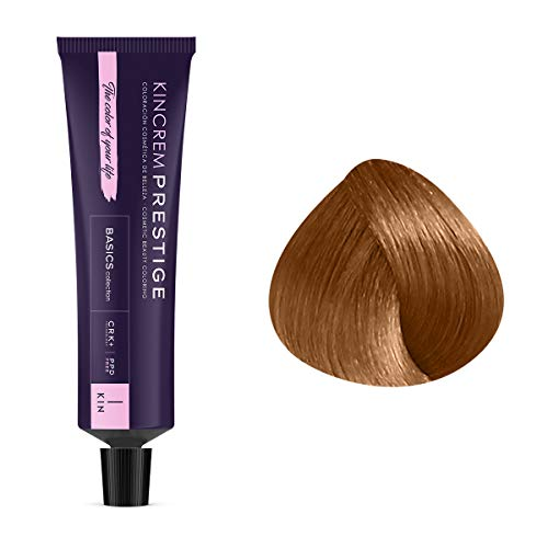 Coloration permanente enrichie à la kératine 8.31 - Blond Clair Doré Cendré Kin Cosmetics