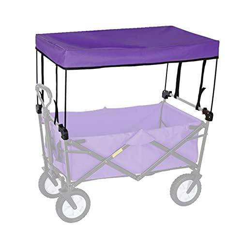 GJFQA Toldo plegable para furgoneta para niños, con accesorios para el sol, para ir de compras y playa