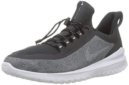 Nike Jungen Laudschuh Renew Rival Shield BG Laufschuhe, Schwarz (Black/Metallic Silver-Cool Gre 001), 36.5 EU