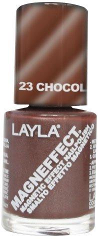 Layla Cosmetics MagneEffect Nagellak, chocolademousse, 1 stuks (1 x 0,01 l)