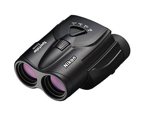 Nikon Sportstar Zoom 8-24x25 Zoom-Fernglas (8- bis 24-fach, 25mm Frontlinsendurchmesser), Schwarz