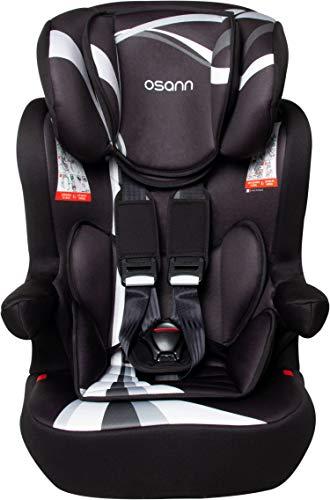 Osann 102-124-268 I-Max SP Isofix Kindersitz Gruppe 1/2/3 (9-36 kg) Kinderautositz Grau